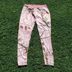 Pink Realtree Camo Long Underwear